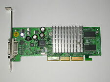 NVIDIA GeForce 4 mx440 64mb s26361-d1592-v64 gs2 DVI Scheda Grafica AGP 64mb