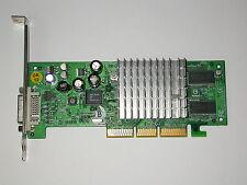 NVIDIA GeForce 4 mx440 64mb s26361-d1592-v64 gs2 DVI Scheda Grafica AGP 64mb