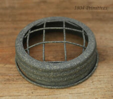 "3"" Weathered Barn Roof Finish Frog Lid ~ Fits Regular Mouth Jar"