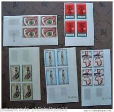 MADAGASCAR timbre-stamp Yvert et Tellier n°396 à 400 non dentelés-Bloc de 4-n**