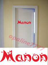 Decal Sticker Firstname Customizes Stars Room