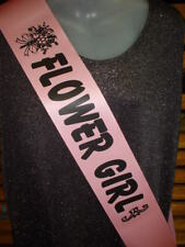 FLOWER GIRL  / HENS NIGHT , PARTY BODY SASH