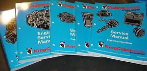 1994 OMC STERN DRIVE SERVICE MANUAL SET 5 MANUALS NEW