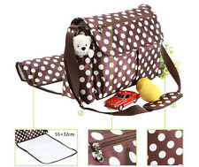 Nappy Bag Diaper Nappy Travel Bag 43x17x31cm       A