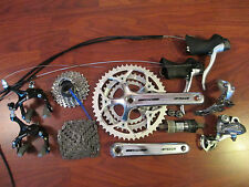 SHIMANO SORA TIAGRA FSA 9 SPEED TRIPLE GROUP BUILD KIT 170 50/39/30