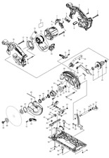 NEU Original Makita DHS680 165MM CORDLESS CIRCULAR SAW Repair Parts Replacement