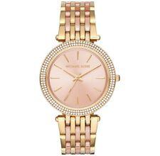 Michael Kors Women's MK3507 Darci Rose Gold Dial Two-Tone Steel Bracelet Watch