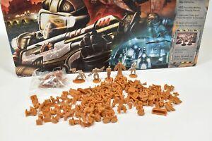 Orange Risk 2210 Board Game Parts Commanders Naval Space Diplomat Land Armies