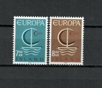 S34116 Island Iceland MNH 1966 Europa 2v