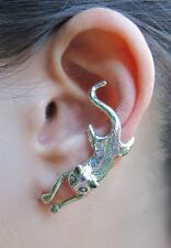 Sterling Silver MAGIC CRAWLING  CAT EAR CUFF  by Marty Magic