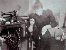 Needed Repairs ©1894 Wm. H. Rau Victorian life children mothers clothing vtg