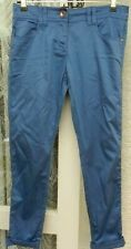 "( Ref 1078 ) Next - Size 10R W 30"" L 28"" - Ladies Blue Skinny Summer Trousers"