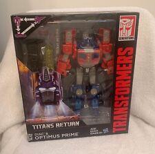 Transformers Generations Titans Return Voyager Class Optimus Prime and Diac NIB