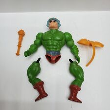 VINTAGE 80s MAN AT ARMS He-Man Masters of the Universe MOTU Mattel Action Figure