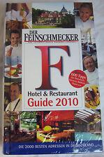 BUCH Hotel & Restaurant Guide 2010 DER FEINSCHMECKER Die 2000 Besten Adressen