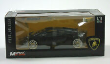 Mondo Motors Lamborghini LP 560 - 4 Black 1:18 Scale Diecast Metal Model Car New