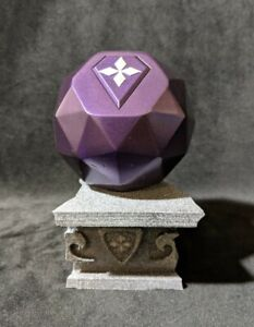 Smallville 90mm Kandor Orb Resin 3D printed model with stand and removable key