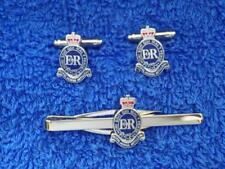 ROYAL HORSE ARTILLERY ( RHA ) CUFF LINK AND TIE GRIP / CLIP GIFT SET