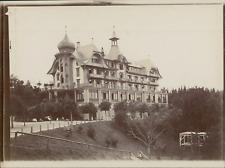 Suisse, Hôtel Gurten-Kulm, ca.1906, vintage citrate print Vintage citrate print