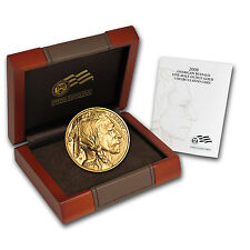 2008-W 1/2 oz Uncirculated Gold Buffalo Coin - Box and Certificate - SKU #58859