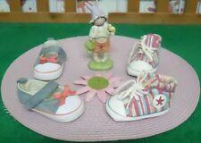 lot paires de chaussures bébé fille 3/6 mois,basket NEUVES,ballerines CREEKS