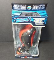 Red Razo Leather Chrome GT Gear Stick Shift Knob Manual MT M8 M10 M12 Japan JDM