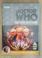 Doctor who the five doctors 2 disc dvd 25th anniversary edition bbc  NEW! Dr Who