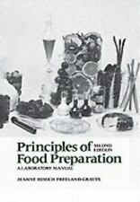 Principles of Food Preparation, Laboratory Manual (2nd Edition), Freeland-Graves
