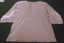 TEE SHIRT ROSE 10 ANS GOCCO MANCHES 3/4