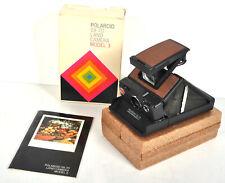 Polaroid SX-70 Land Camera Model 3 w/ Original Box & Styrofoam & Manual