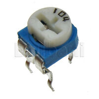 10pcs WH06-2A-104 Top-Adjust Carbon Track Trimmer POT 1 Turn 100K Ohm