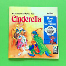 Cinderella - Peter Pan Book and Recording Record