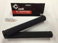 "ODI 8"" Rubber Snowmobile Grips -BLACK- Cat Polaris Skidoo Yamaha - Made in USA"