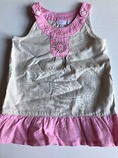Babykleid Sommer Kleid  Frühling MEXX Gr. 74 Leinen wie neu