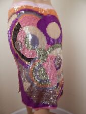 valentino sequin skirt, couture with tags, appx size 7