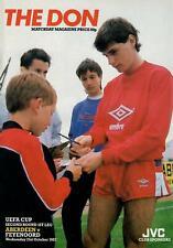 Aberdeen v Feyenoord 21.10.1987 UEFA