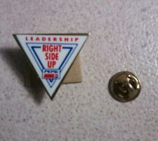 """Pepsi Leadership Right Side Up Lapel Pin/Button Triangle Approximately 15/16"""""""