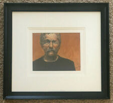 Dale Rayburn Etching Portrait Monotype