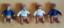 Russ Berrie Ceramic Articulating Bears - DOCTOR NURSE POLICEMAN BUSINESSMAN