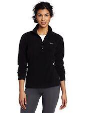 Helly Hansen Women's Daybreaker 1/2 Zip Fleece Pullover black XS