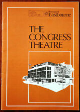 More details for russ conway / marianne finch congress theatre, eastbourne concert programme 1986