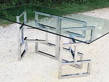 TABLE DE REPAS VINTAGE 72CM HAUTEUR 1970 SPACE AGE PIED ARTICULE 70S 70'S