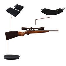 Tourbon Rifle Cheek Riser Scope Cover Recoil Pad Hunting Shooting Accessory Kits