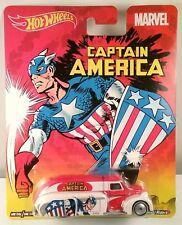 Hot Wheels 1:64 Pop Culture Marvel Captain America Dodge Airflow