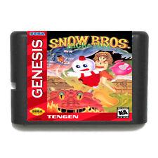 Snow Bros sega megadrive Ver GENESIS  new