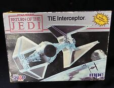 Mpc Star Wars Return of the Jedi 1983 Tie Interceptor Snap Model Kit