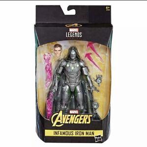 Hasbro Marvel Legends Series Action Figure Infamous Iron Man 15 cm - new