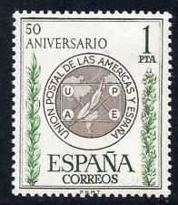 SPAIN MNH 1962 SG1523 50th Anniversary of Postal Union America-Spain