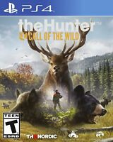 The Hunter: Call of the Wild (Sony PlayStation 4, 2017) BRAND NEW