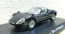 1/64 Kyosho Alfa Romeo TIPO 33 STRADALE BLACK diecast car model